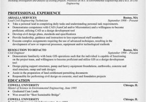 Engineering Technician Resume Civil Engineering Technician Resume Resumecompanion Com