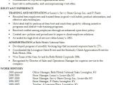 English Resume Template Resume Secondary English Teacher at High School Level