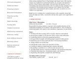 English Resume Template Teacher Resume 9 Free Sample Example format Free