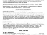 Entry Level Quality assurance Resume Samples Aircraft Maintenance and Quality assurance Resume