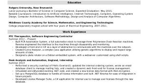Entry Level software Engineer Resume software Engineer Resume Example 10 Free Word Pdf