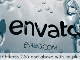 Envato Ae Templates Water Logo Reveal Water Envato Videohive after