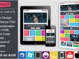 Envato Responsive Email Templates Onetouch Responsive Email Template by Exchanger