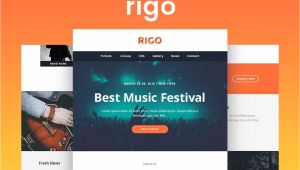 Envato Responsive Email Templates Rigo Responsive Email and Newsletter Template by