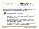 Environmental Scan Template Part Ii Process Plan Components Ppt Download