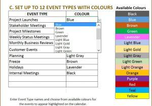 Event Calendars Templates Excel Calendar Template Excel Calendar 2018 2019 or Any