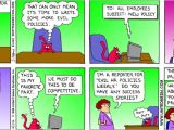 Evil Hr Lady Cover Letter Dilbert Cartoons Any Fans Out there Miscellaneous