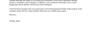 Example Of A Cover Letter for Retail Best Retail Cover Letter Examples Livecareer