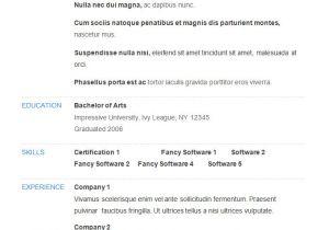 Example Of Basic Resume Outline 70 Basic Resume Templates Pdf Doc Psd Free