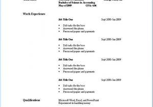 Example Of Basic Resume Outline Basic Resume Outline Sample Photos Mother Love Job