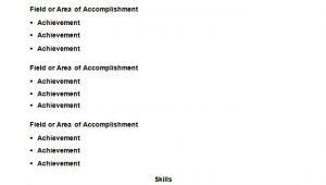 Example Of Blank Resume 46 Blank Resume Templates Doc Pdf Free Premium