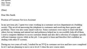 Example Of Cover Letter for Customer Service Job Customer Services assistant Cover Letter Icover org Uk