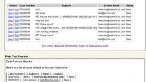 Example Of Visualforce Email Template In Salesforce Visualforceemailtemplates Sample Developer force Com