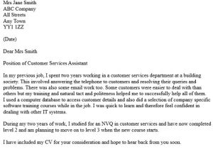 Examples Of Cover Letters for Customer Service Positions Customer Services assistant Cover Letter Icover org Uk