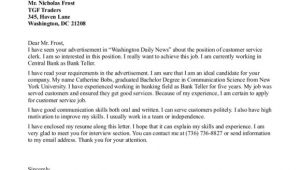 Examples Of Cover Letters for Customer Service Positions the Most Awesome and Also Lovely Customer Service Manager