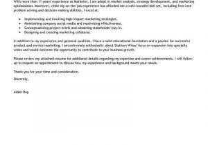 Examples Of Cover Letters for It Jobs Free Cover Letter Examples for Every Job Search Livecareer