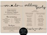 Examples Of Wedding Programs Templates Christian Wedding order Of Service Template