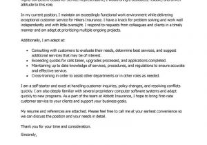 Examples Of Well Written Cover Letters Example Of Well Written Cover Letter