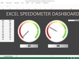 Excel Speedometer Template Download Creating Excel Gauge Dashboard Excel Dashboard Templates