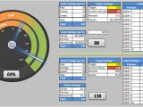 Excel Speedometer Template Download Dual Gauge Template Advanced Data Visualization