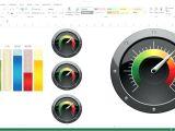 Excel Speedometer Template Download Excel Speedometer Large Size Of Gauge Template Free