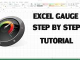 Excel Speedometer Template Download How to Create Excel Kpi Dashboard with Gauge Control Youtube