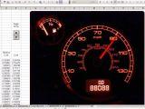 Excel Speedometer Template Download Speedometer Chart In Excel 2010 Free Download Download
