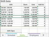 Excel Templates for Scheduling Employees Free Excel Employee Scheduling Template when I Work