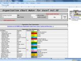 Excel Templates with Macros Officehelp Macro 00051 organization Chart Maker for