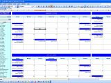 Excell Calendar Template Excel Monthly Calendar Template Calendar Template Excel