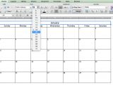 Excell Calendar Template Make A 2018 Calendar In Excel Includes Free Template
