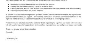 Executive assistant Cover Letter 2014 Leading Professional Executive assistant Cover Letter