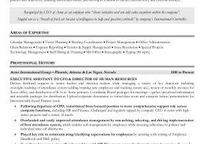 Executive assistant Resume Samples 2016 10 Senior Administrative assistant Resume Templates