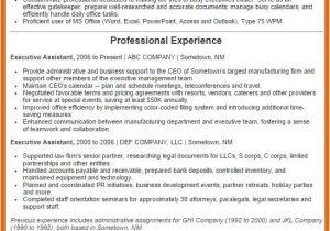 Executive assistant Resume Samples 2016 Executive assistant Resume Examples 2016 Get Your Job