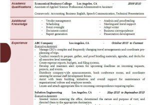 Executive assistant Resume Samples 2016 Executive assistant Resume Samples 2017