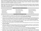 Executive assistant Resume Template Targeted Resume Resume Badak
