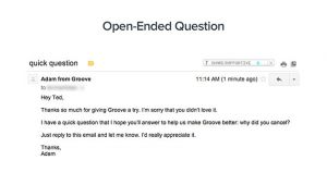 Exit Email Template How We Grew Our Customer Exit Survey Responses by 785