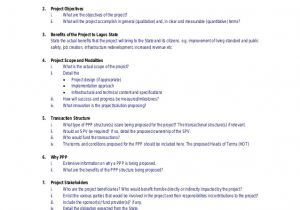 Expenditure Proposal Template Capital Expenditure Proposal Template One Piece