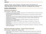 Experienced Mechanical Engineer Resume Pdf Mechanical Engineer Resume Samples Qwikresume