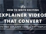 Explainer Video Script Template How to Write A Buzzworthy Explainer Video Script Free