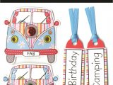 Express Yourself Diy Card toppers Birthday Camper Van Diy Greeting Card toppers with Images