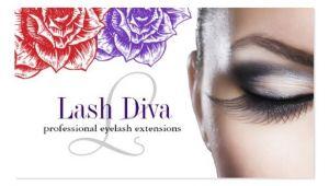 Eyelash Business Cards Templates Lash Extension Business Card Templates Page2 Bizcardstudio