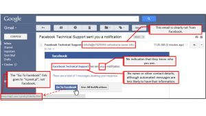 Facebook Phishing Email Template Phishing Links Check It before You Click It Iium Cybersafe