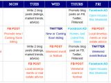 Facebook Posting Schedule Template social Media Marketing for Real Estate Agents Creating A