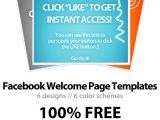 Facebook Welcome Page Templates Free Facebook Welcome Page Template Psd Download Wp4fb 3 0