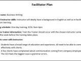 Facilitation Plan Template How to Distribute and Implement Instruction Webucator