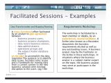 Facilitation Plan Template Iiba Facilitation Skills for Business Analysis V2