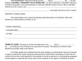 Facilities Management Contract Template 9 Facility Agreement Templates Free Sample Example