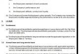 Fair Work Employment Contract Template Fixed Term Employment Contract Template