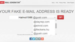 Fake Email Template Generator 3 Best Online Email Address Generators